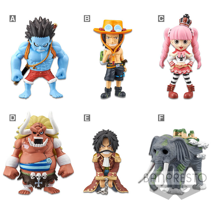 Banpresto One Piece World Collectable Figure Treasure Rally Vol. 2 Prize Figures (Blind Set of 6)