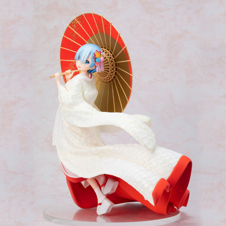 FuRyu Rem Shiromuku Ver. Re:Zero Starting Life in Another World 1/7 Scale Figure