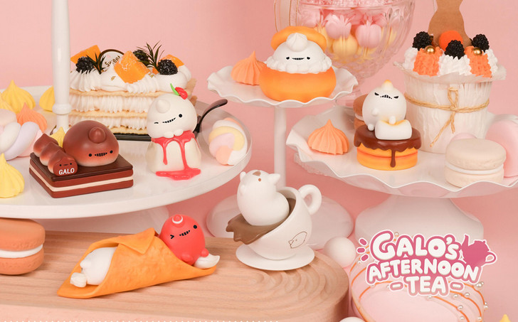 Ribose Galo's Afternoon Tea Series Trading Figure (Set of 6)