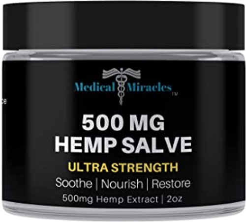500 Mg Ultra  Strength Hemp Healing Salve