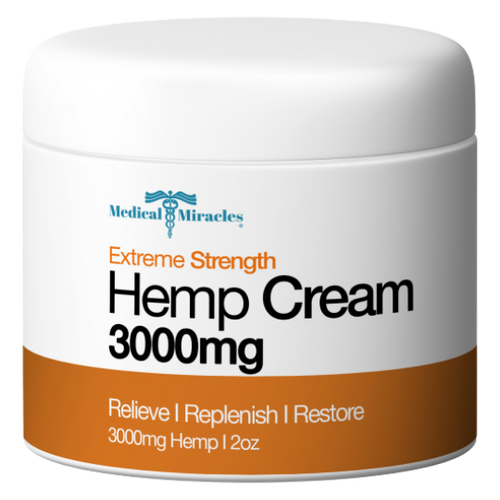 Extreme Strength Hemp Cream 3000mg