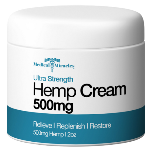 Ultra Strength Hemp Cream 500mg
