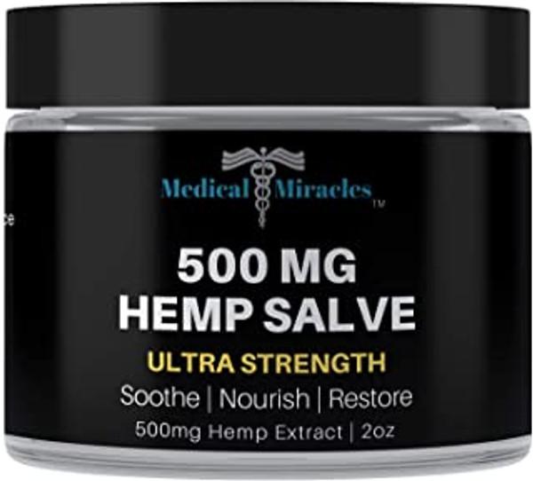 500 Mg Ultra  Strength Hemp Healing Salve