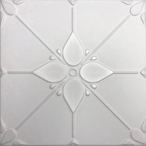 Joy white foam ceiling tile