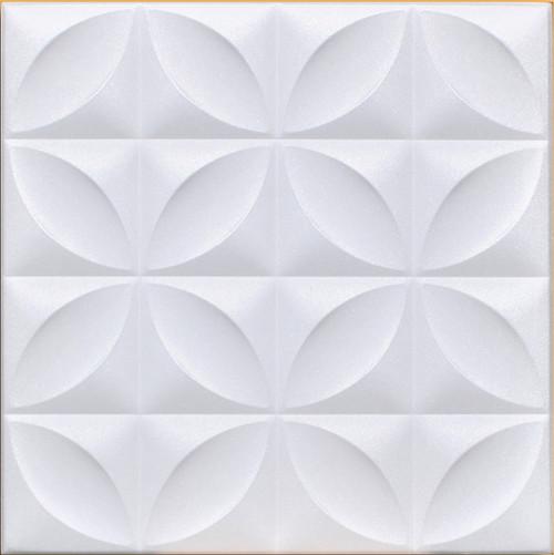 Decorative Foam ceiling tile Closter White
