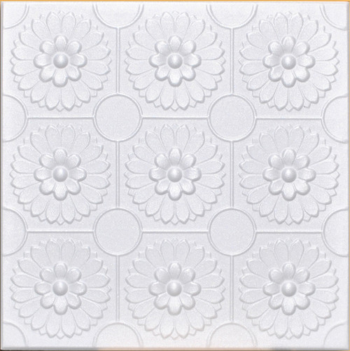 "Best Deal! 20""x20"" Odessa Foam Ceiling Tile - 96pc Box"