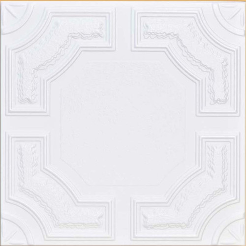 Caracas White Foam ceiling tile