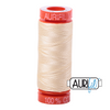 These 200m spools are perfect for that small project or when you are on the move.   The thread is fine, yet strong, resulting in flat seams when foundation piecing.  This high quality 100% Cotton thread is ideal for embroidery and gives a subtle effect when quilting. Another popular choice when using for hand work and with Bobbin and Machine Lace.  We have 270 colours available on 200m (220 yd) spools.