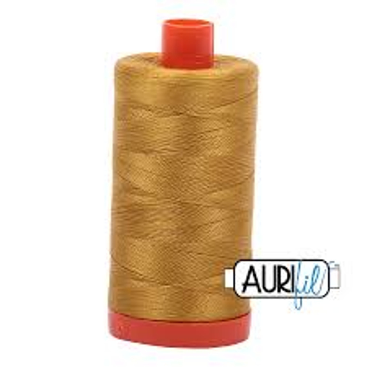 40wt Aurifil Cotton Quilting Thread 150m Mustard 5022