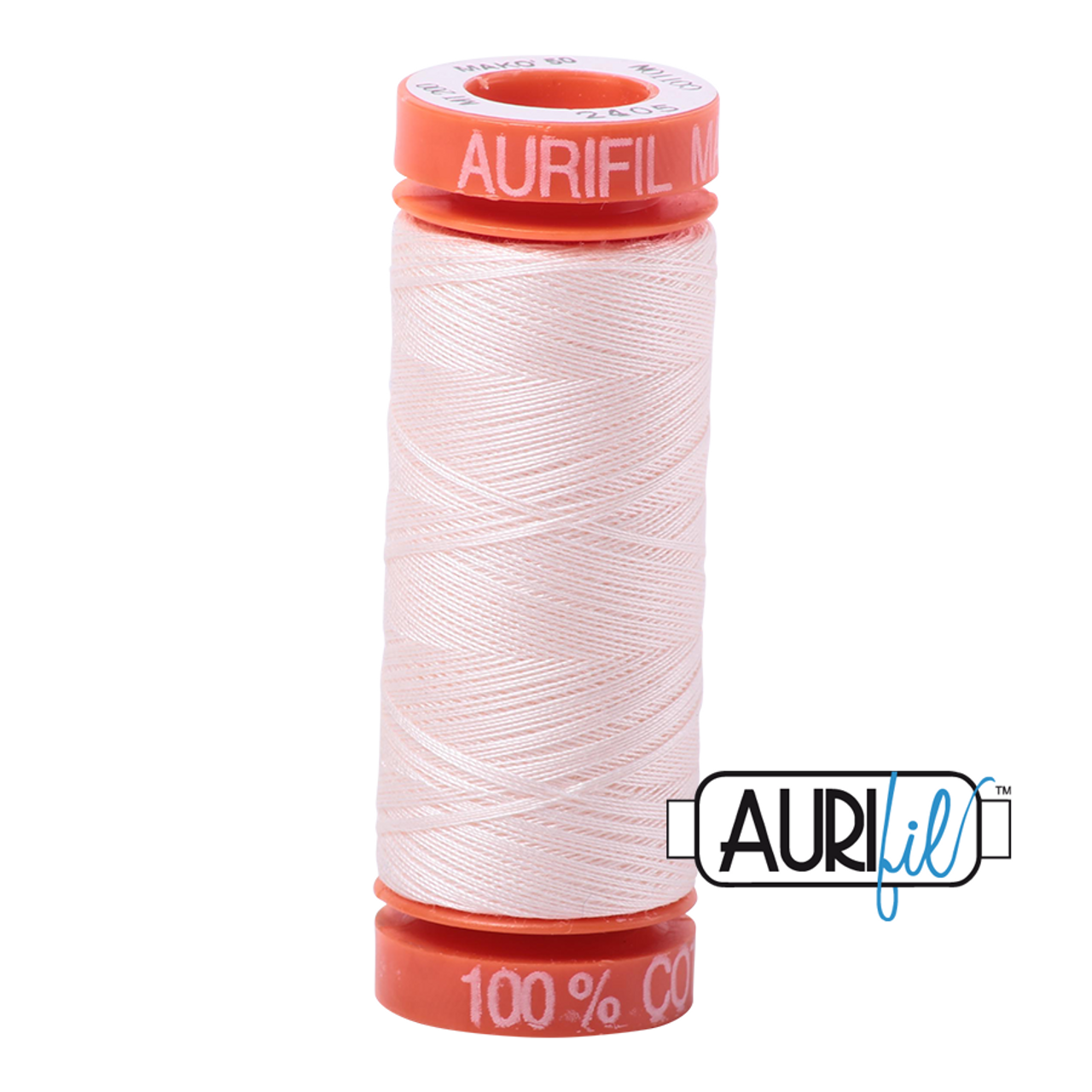 150m 2460 40wt Aurifil Cotton Quilting Thread Dark Carmine Red