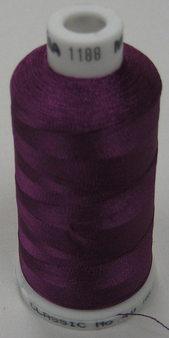 Madeira Polyneon Embroidery Thread 40 wt 1000 M Spool Color # 1725