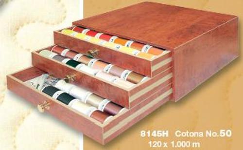 Cotona 50 Professional Thread Treasure Chest