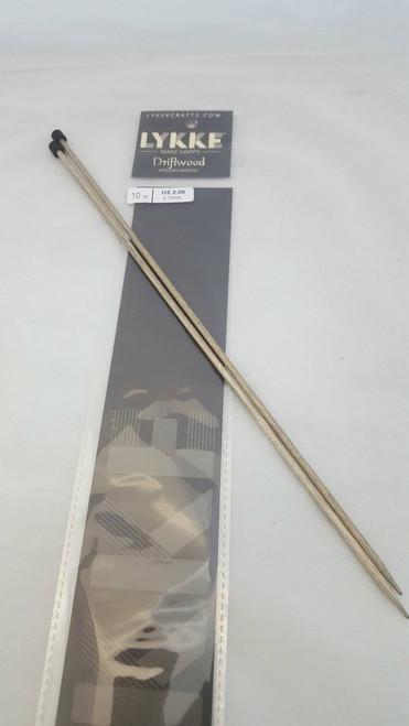 "10"" /25cm Straight  - 02.75 mm/US 2.00 Diameter"