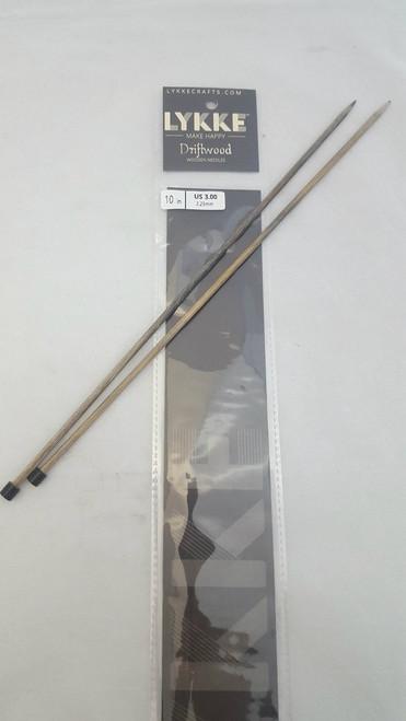 "10""/25cm Straight  - 3.25mm/US 3.00 Diameter"