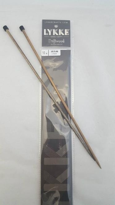 "10""/25cm Straight - 3.75mm/US 5.00mm Diameter"