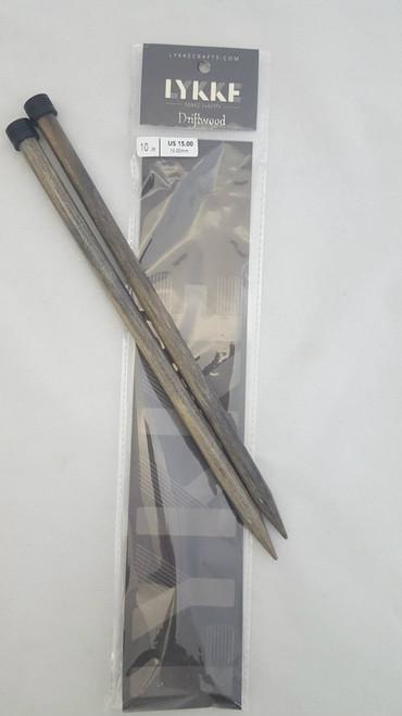 "10""/25cmStraight -  10 mm/US 15.00 Diameter"