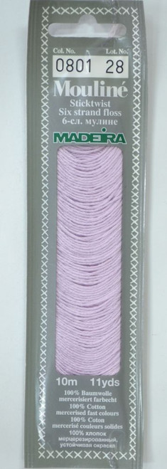 MADEIRA Mouline Stranded Cotton Embroidery Floss 10m Colour 0810