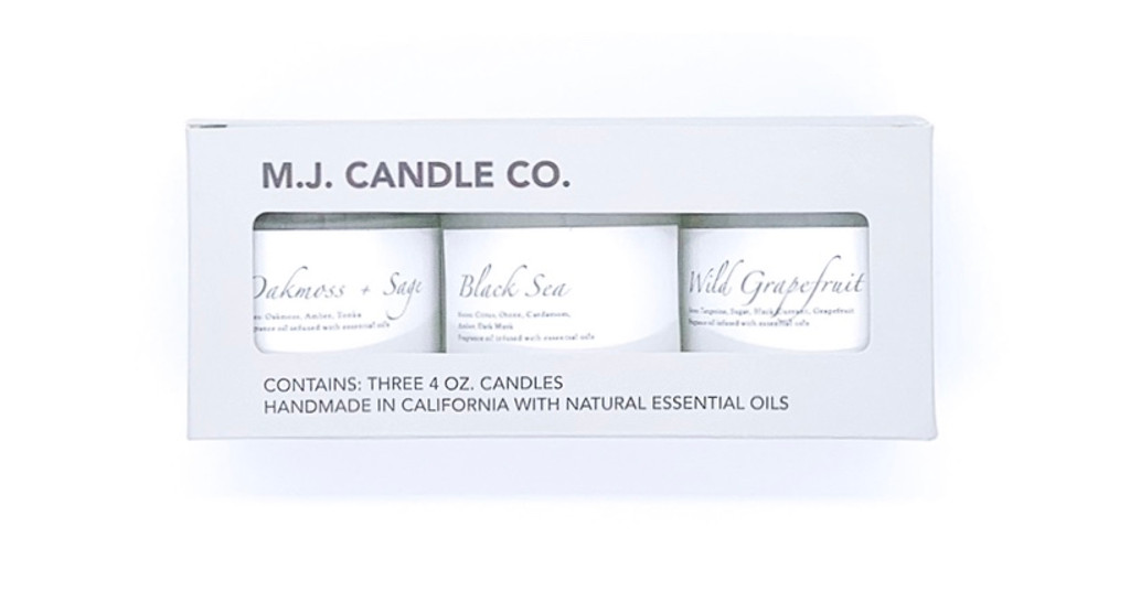 M.J. ESSENTIALS - Mini Candle Gift Set