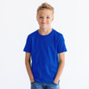 0235 Youth Fine Jersey Tee  (Royal)