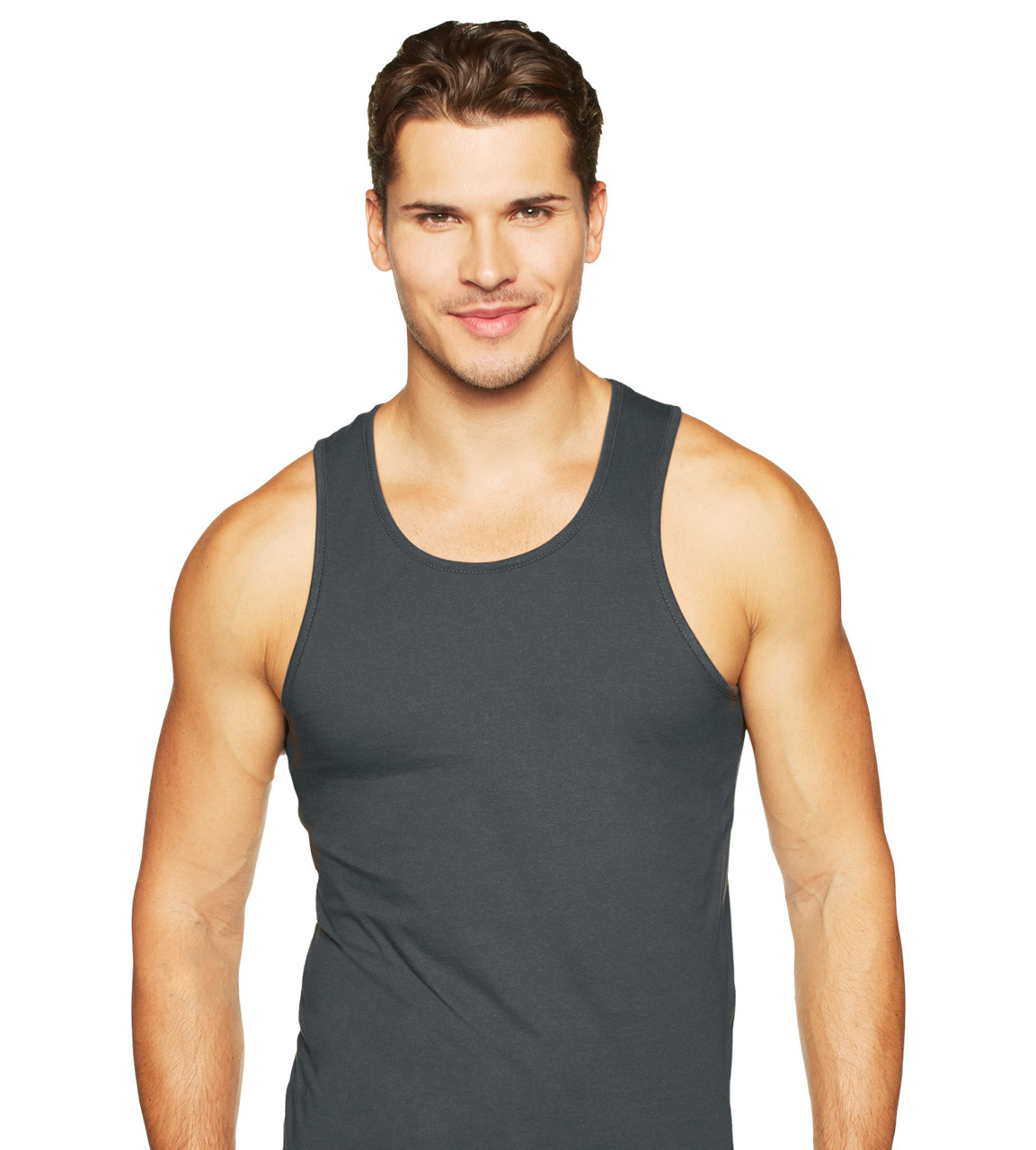 74f67e2f67408 Next Level Apparel 3633 - Men s Premium Cotton Tank Top S-2XL