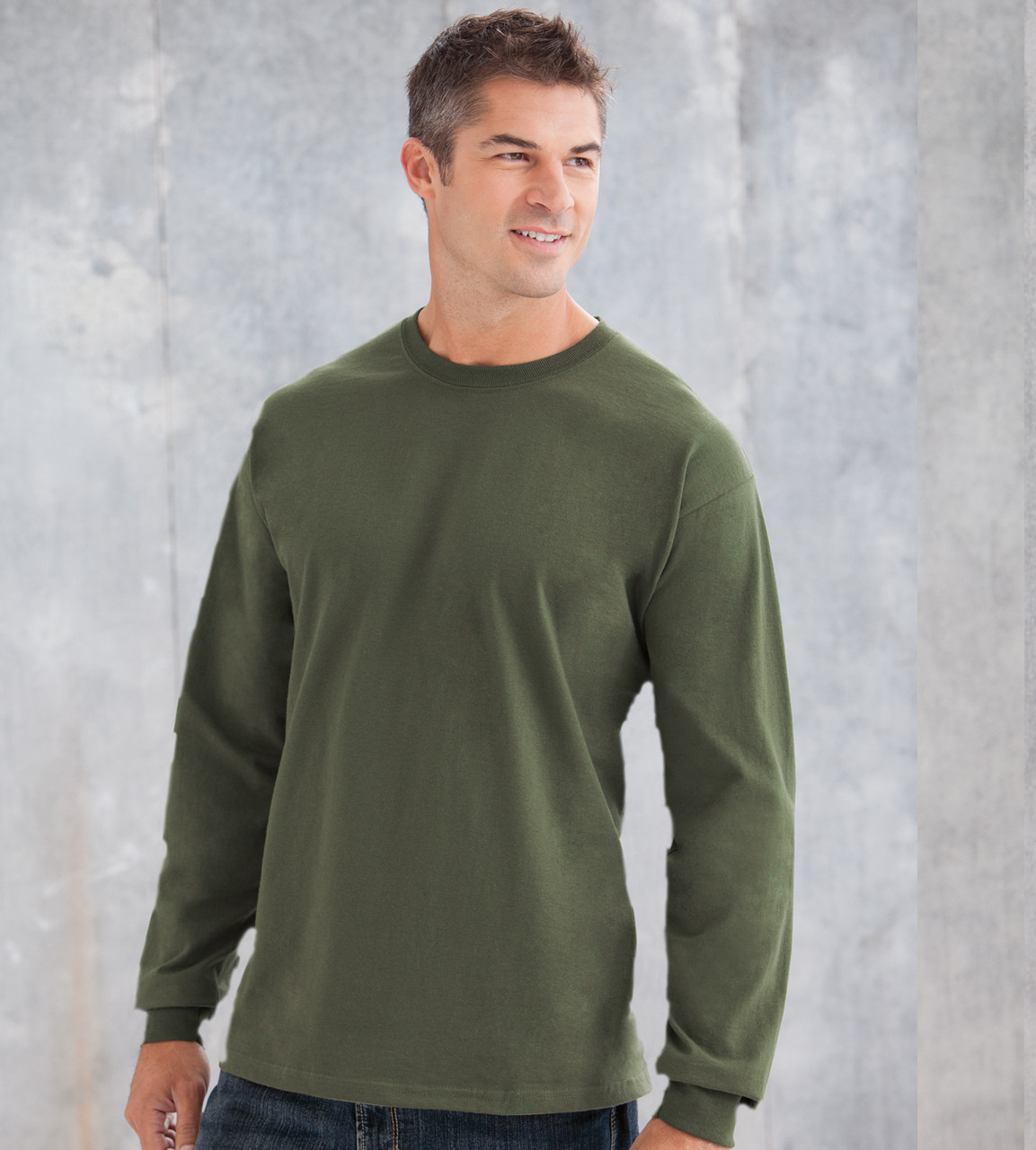 3f2235cb 2400 GILDAN ULTRA COTTON ADULT LONG SLEEVE TEE ...