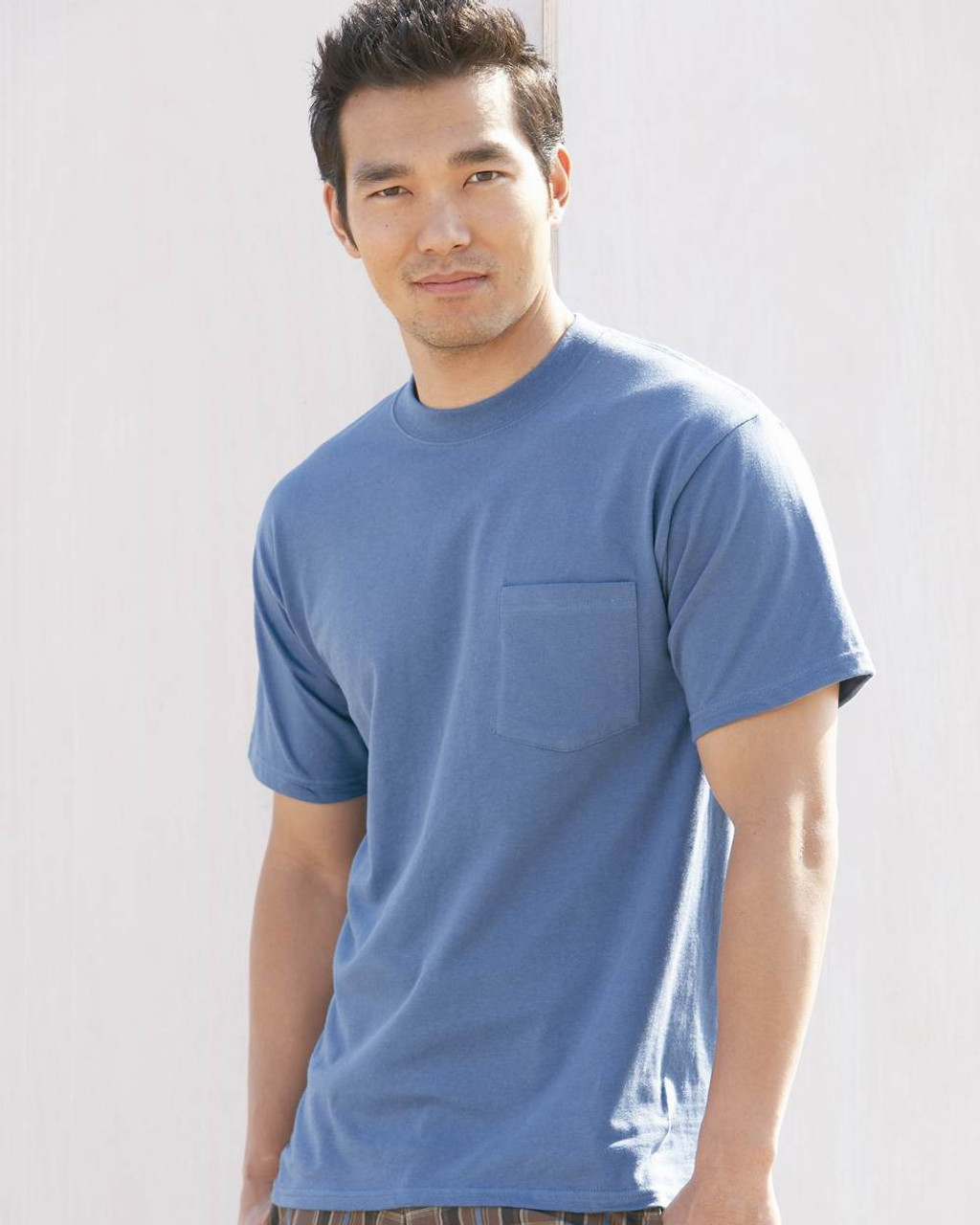 1d7700d0 Hanes 5190 Adult Beefy T-Shirt with Pocket