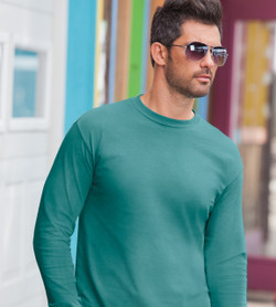 Comfort Colors 6014 - Adult Long Sleeve Ring-Spun Cotton Tee