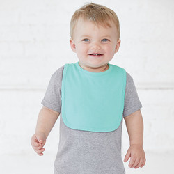 Rabbit Skins 1005 - Infant Jersey 1-Ply Velcro® Bib