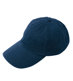 LP104 ADAMS OPTIMUM II TRUE COLOR TWILL CAP  (Navy)