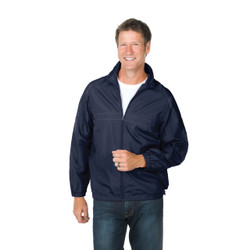 8530 Dunbrooke Apparel Olympic Lightweight Full-Zip Adult Jacket  (Navy)