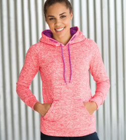 J. America - Women's Cosmic Fleece Hooded Sweatshirt - 8616