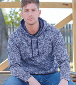 J. America - Cosmic Fleece Hooded Sweatshirt - 8613