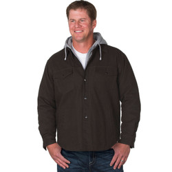 8419T Dunbrooke Dukane Adult Hooded Canvas Jacket - TALLS