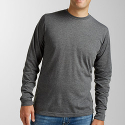 Tultex 242 Unisex Poly-Rich Blend Long Sleeve Tee