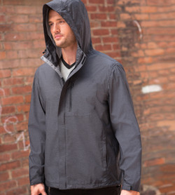 17604 Weatherproof 32 Degrees Melange Rain Jacket