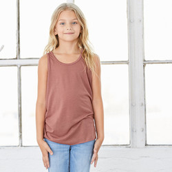 Bella 8800Y Youth Racerback Flowy Tank