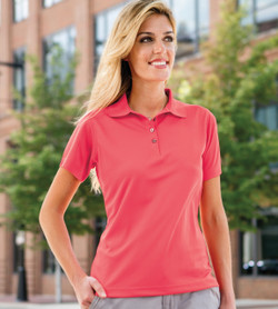 104 Paragon Women's Performance Mesh Polo
