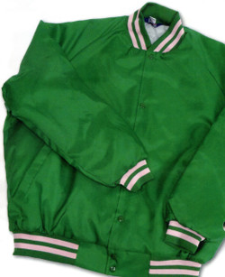 464 ASW Jackets - USA Made Quilt-Lined Oxford Baseball Jacket