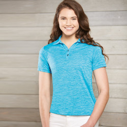 130P Paragon Ladies' Dakota Heather Polo