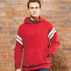 8847 J America Vintage Athletic Pullover Hooded Sweatshirt