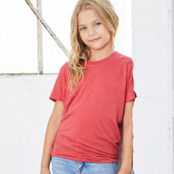 3413Y Bella + Canvas Youth TriBlend Short Sleeve Tee