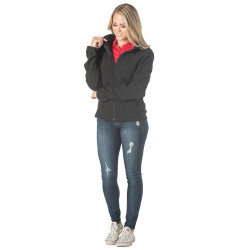 3514 Dunbrooke Ladies Hayden Full-Zip Fleece Jacket  (Black)