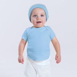 3400 Rabbit Skins Infant Baby T-Shirt  (Light Blue)
