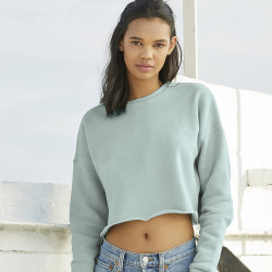 7503 Bella + Canvas Women's Cropped Crew Fleece
