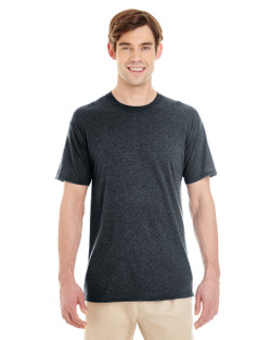 601MR Jerzees Adult TriBlend T-Shirt  (Black Heather)
