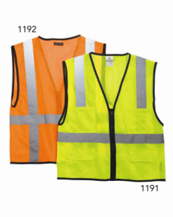 1191-1192 ML Kishigo Economy Six Pocket Vest