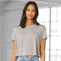 8882 Bella + Canvas Women's Flowy Cropped Tee
