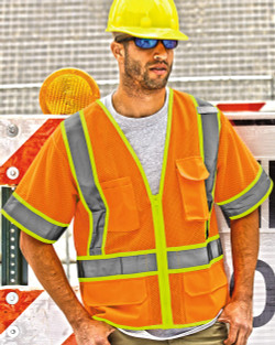 1242-1243 ML Kishigo Ultra Cool Mesh Surveyor's Vest