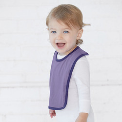 Rabbit Skins 1004 - Infant Contrast Velcro® Bib