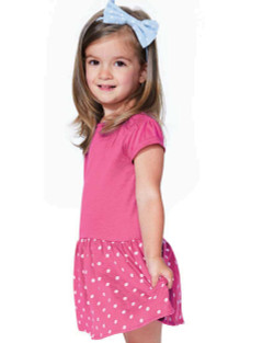 Rabbit Skins - Toddler Baby Rib Dress - 5323